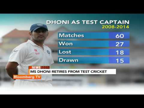 Newsroom:  MS Dhoni Retires From Test Cricket