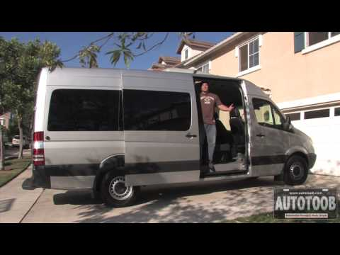 Review of 2009 Dodge Sprinter Passenger Van
