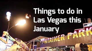 Things To Do In Las Vegas, January, 2018