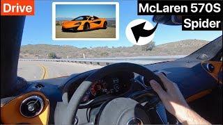 2019 McLaren 570S Spider DRIVE