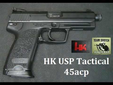 HK USP Tactical 45 Pistol