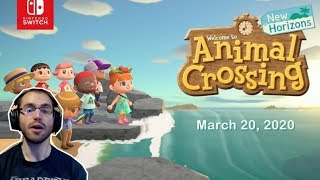 Reaction - Animal Crossing New Horizons