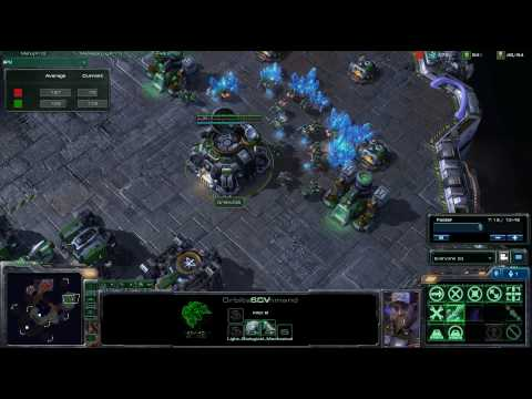 HD Starcraft 2 Team Quebec v Root Gaming g2 p1/1 Video