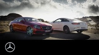 The new E-Class Coupé – Trailer – Mercedes-Benz original