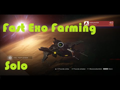 Fast way to farm Exotics/schnelle Taktik zum Exos farmen