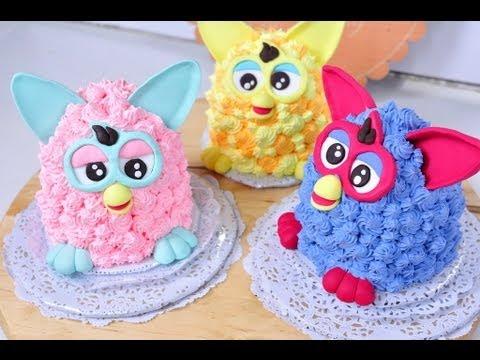 เฟอร์บี้เค้ก Furby Cake