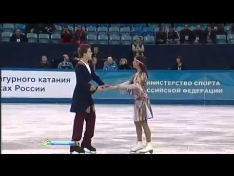 Таджикский танец и таджикская песня.Фигурное кат.