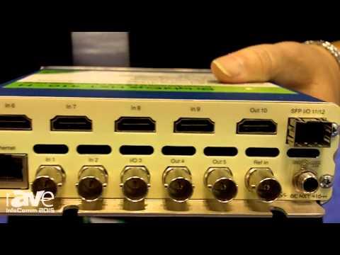InfoComm 2015: Ensemble Designs Displays BrightEye NXT 410 Clean HDMI Router