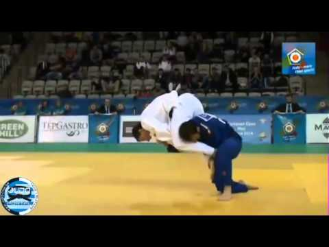 European Judo Open Men Prague 2014 Final -66kg SHERSHAN Dzmitry (BLR) - VERDE Elio (ITA) Image 1