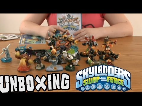 Skylanders Swap Force Unboxing & Character Reviews!