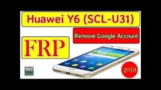 Huawei y6 SCL U31 frp remove 100% okk