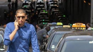 Uber Lyon'da Da Protesto Edildi