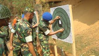 Training Of Bangladesh Army
