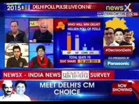 NewsX Exclusive: Biggest and 1st live survey on Delhi Election