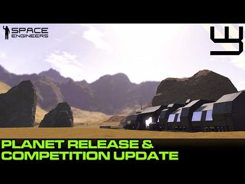 Space Engineers: A Planet Surface v1.0 & Skybox