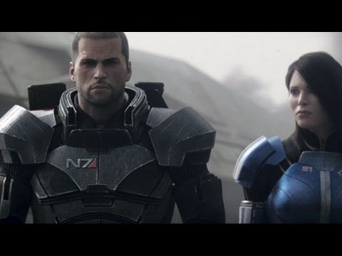 Mass Effect 3 Sauvez La Terre Cinematic Trailer