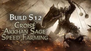Diablo 3 Build Croisé Akkhan Sage Speed Farming Tourment 13