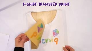 DIY T Shirt Transfer Printing   Kids Craft Activities
