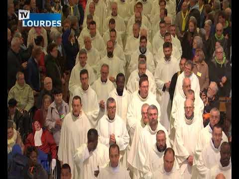 Messe internationale de Lourdes du mercredi 24 avr. 2019