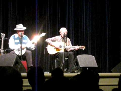 Doc Watson & David Holt - 01/16/2010 - Shady Grove and dialogue about falling in love with Rosa Lee