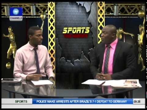 Sport This Morning: FIFA Bans Nigeria As Argentina Enters World Cup Final (pt1)