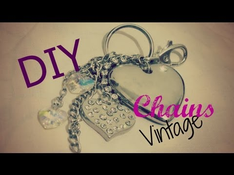 DIY llaveros Vintage CHAINS