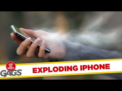 iPhone Explosion !! - Throwback Thursday