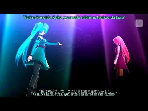 Hatsune Miku & Megurine Luka - Akatsuki Arrival (Project DIVA F 2nd) Sub Romaji Y Español