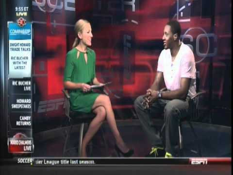 July 10, 2012 - ESPN - Miami Heat's Mario Chalmers Live on Sportscenter