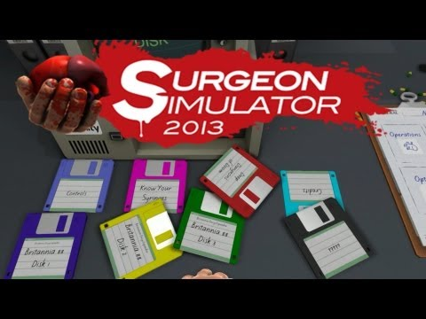 Surgeon simulator 2013 All Disks