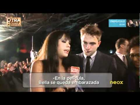 Otra movida - Cristina Pedroche con Robert Pattinson