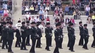 The Band and Bugles of The Rifles - Army Wales's Military Music Pageant - June 11 (part 2)