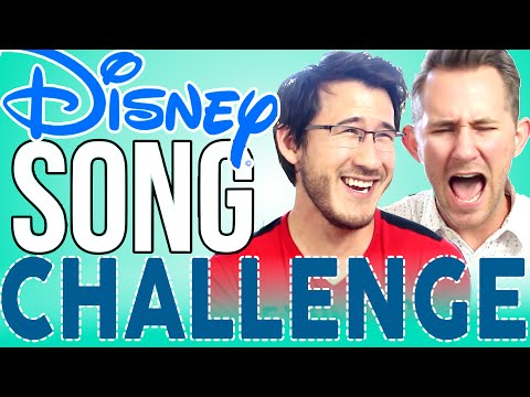 DISNEY SONG CHALLENGE [Part 2] | Markiplier