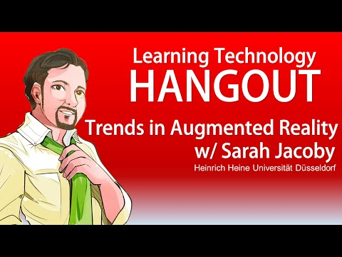Trends in AR w/ Sarah Jacoby - Hangout Session