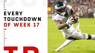 Every Touchdown from Week 17 | NFL 2018 Highlights