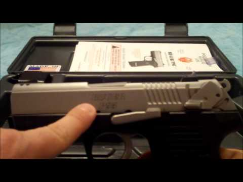 Review for the RUGER P95.  9mm..What to know!