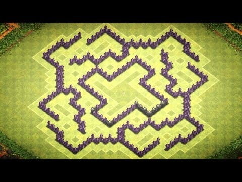 Clash of Clans - Epic Town Hall 8 - Farming Base (XTreme)