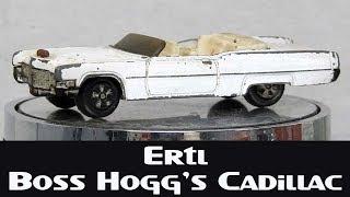 "Ertl Restoration Boss Hogg's Cadillac ""Dukes Of Hazzard'"