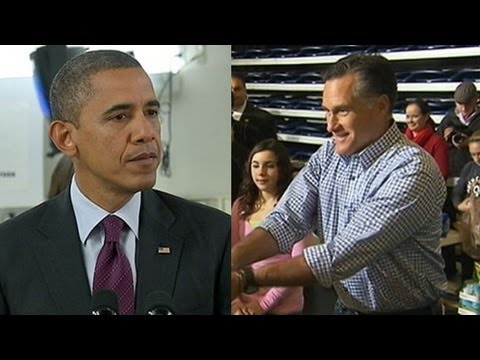 Mitt Romney, President Obama Lead Hurricane Sandy Relief Efforts Before 2012 Presidential Election