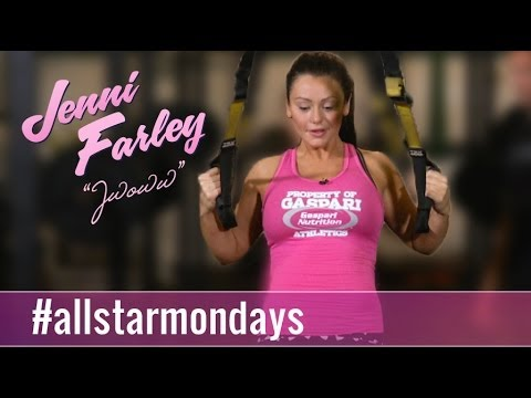 Trx: 200 Rep Challenge- All Star Mondays W  Jenni jwoww video