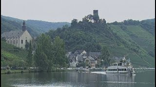 Mosel, Germany: Mosel River and Burg Eltz Castle