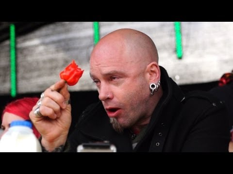 GrillStock 2013 Chilli Eating Contest Saturday 11 May in HD