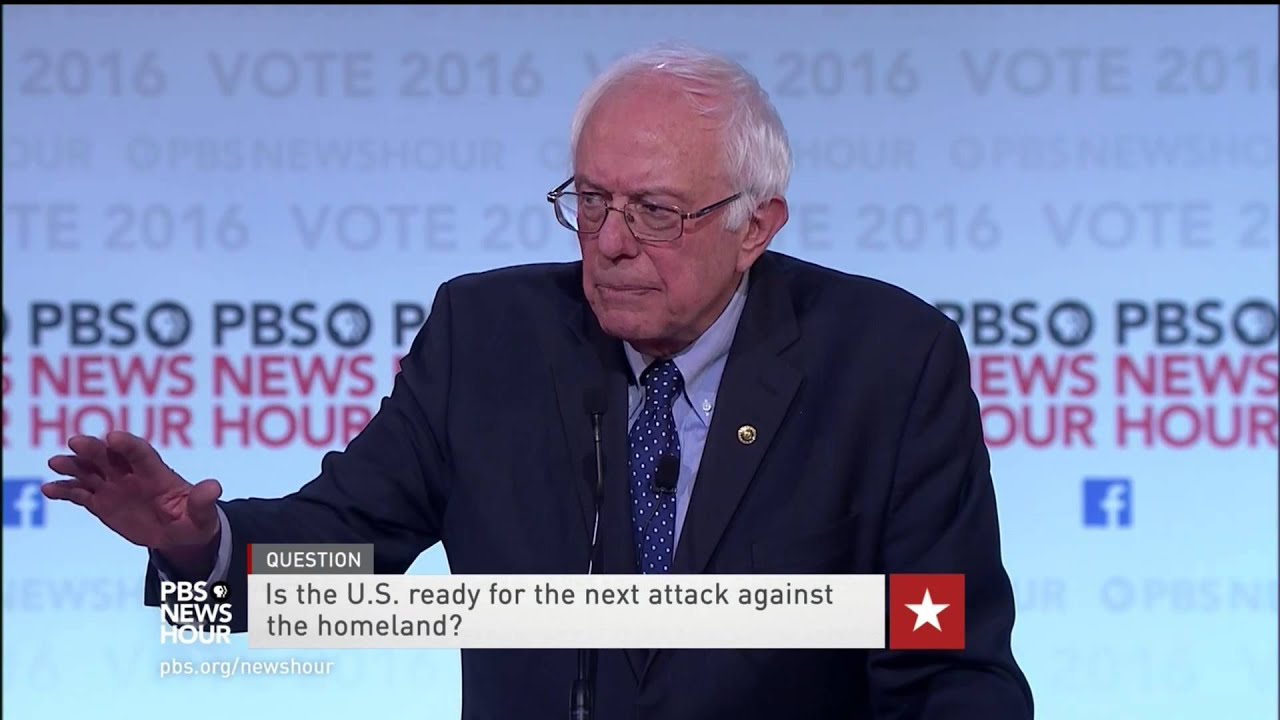 Sanders on 'unintended consequences' of intervening overseas