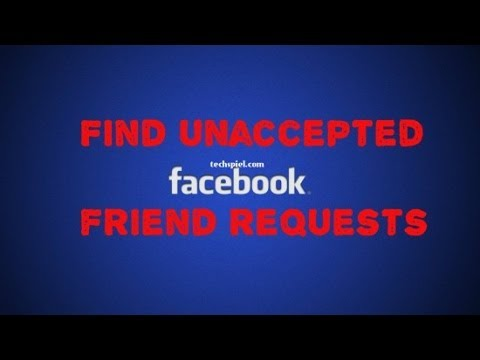 How to remove pending friend request on facebook?