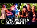 DANCE BATTLE: Boys Vs Girls - ft. Brooklyn and Bailey