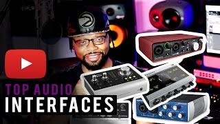 Best USB Audio Interfaces 2017 | Top 5 Audio Interfaces Under $300 (2017)