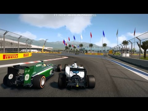F1 2014 Sochi Russian Grand Prix 100% Race