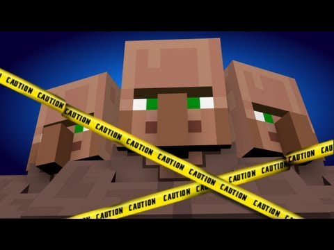 Villagers Gone Wild! (Minecraft Machinima)