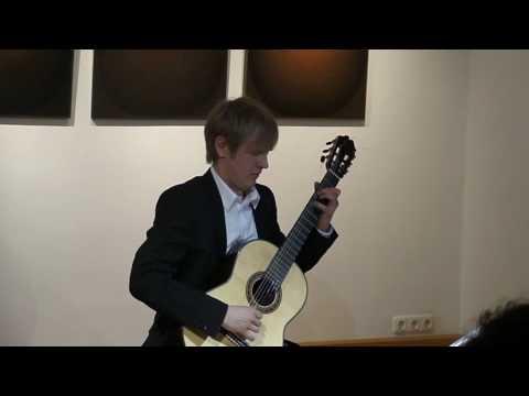 Giulio Regondi, Study Nr.1, performed by Dimitri Lavrentiev