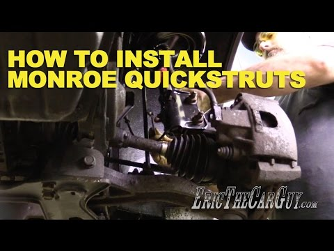 How To Install Monroe QuickStruts -EricTheCarGuy